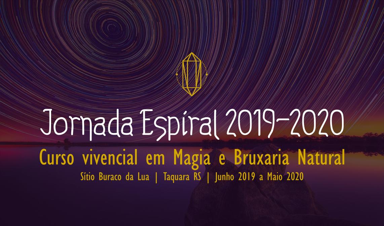 Imagem com chamada para a Jornada Espiral 2019 | 2020